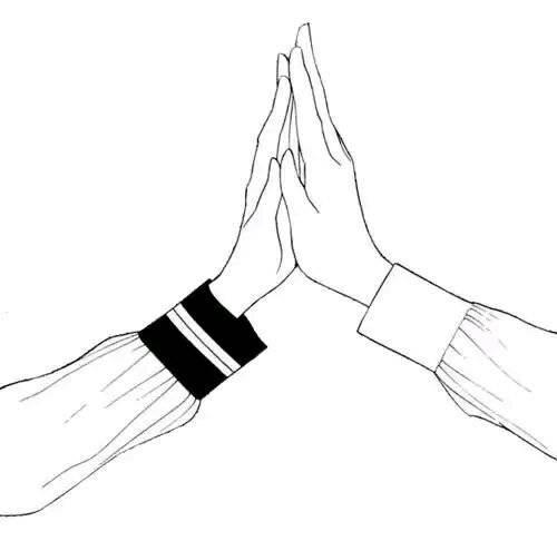 求 动漫情侣手牵手背影 手机壁纸