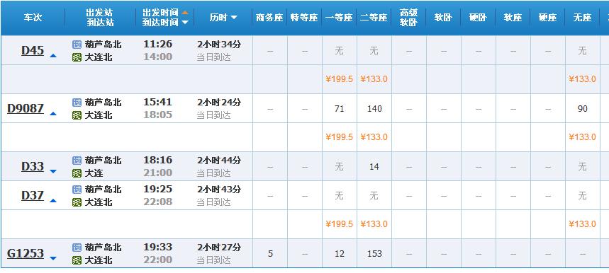葫芦岛动车网上订票_葫芦岛火车到大连多少钱