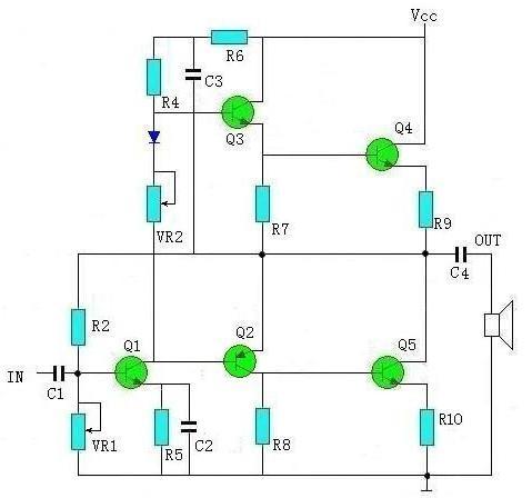 音频功放电路怎么实现放大功能