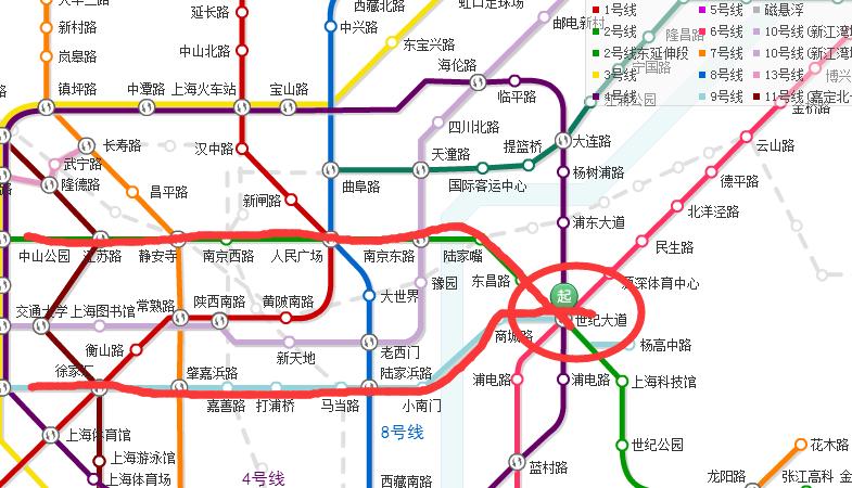 上海地铁2号线怎么换乘9号线至松江大学城站