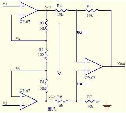 我想用运放做一个直流电压放大电路,放大10万倍左右,可以怎样做?