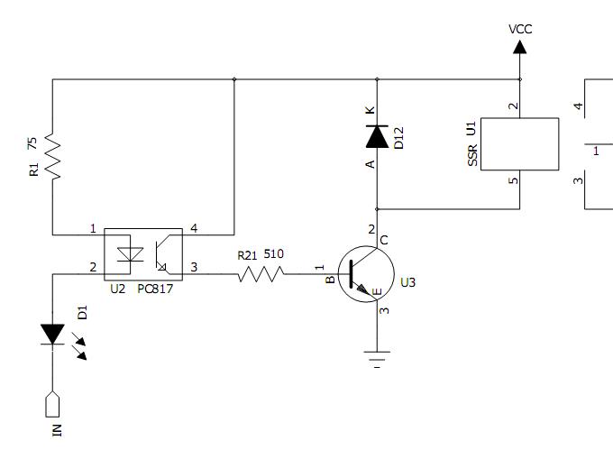 51单片机控制三极管8550做开关电路图
