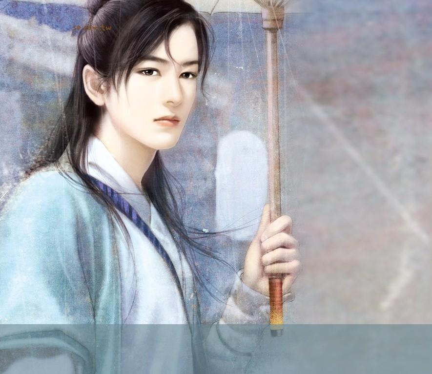 求精美手绘古装美男图片,唯美些,3d的,多量,联系qq:1213717817