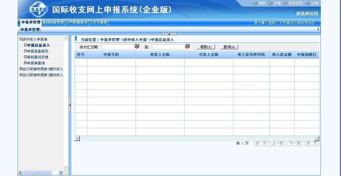 国家外汇管理局网上应用服务平台 遇到问题 求解!