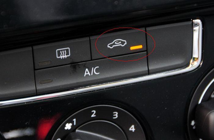 大众汽车宝来空调内外循环怎么区分