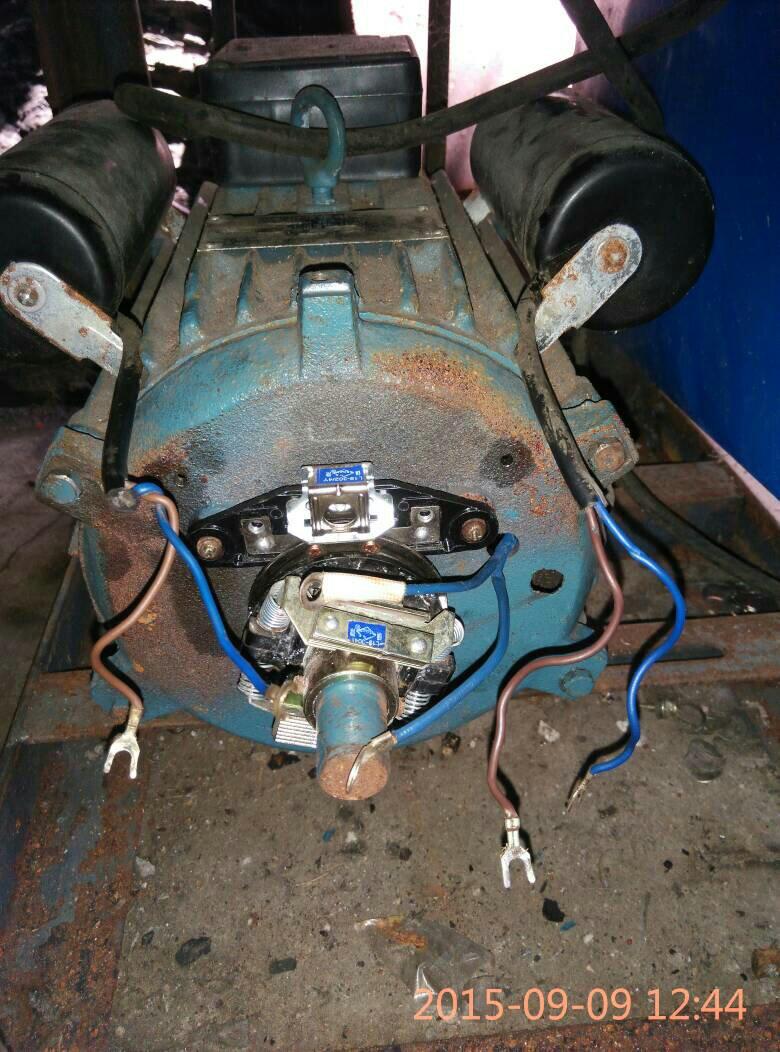 单相双值电容电机220v怎么接线,拆坏的下来的时候忘记