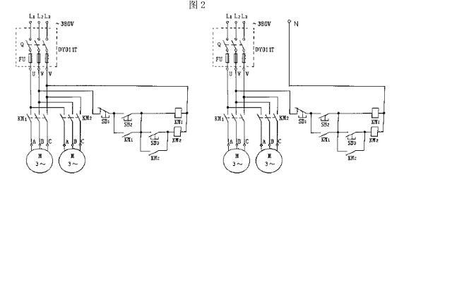 设计一个 三台异步电动机顺序起动逆序停止的电路.要求用时间继电器.