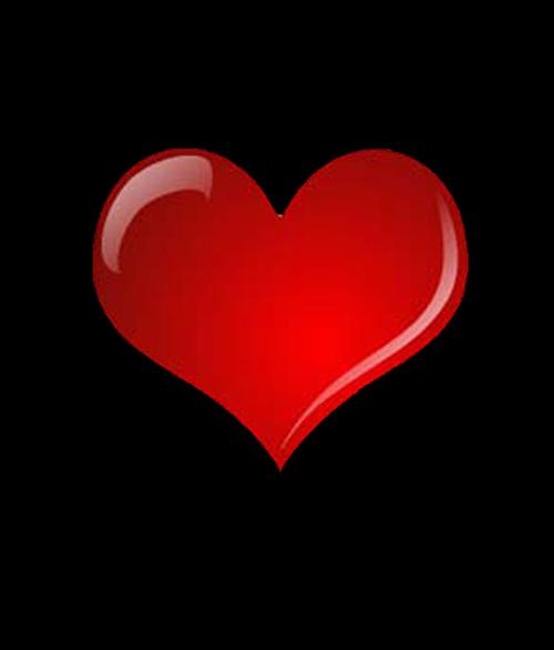 我也想要那张背景是黑色的,然后一个红色的简单的爱心