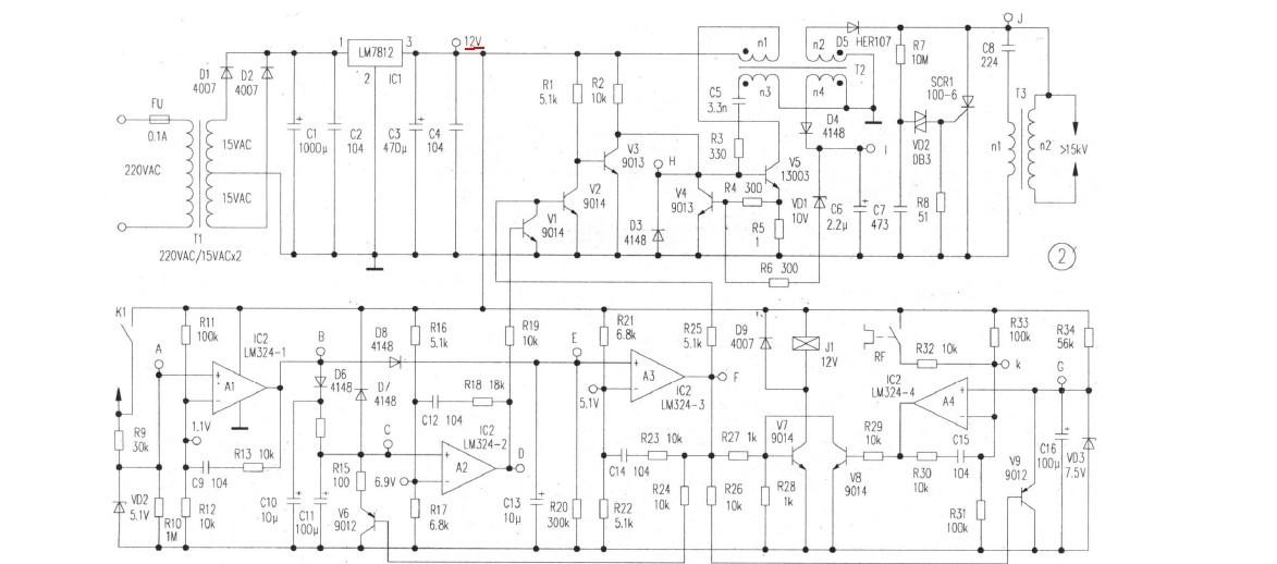 电路 电路图 电子 户型 户型图 平面图 原理图 1173_518