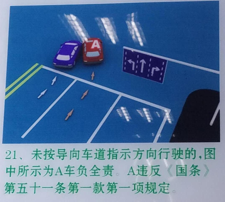 这个事故就是直行车道右转的车辆承担全责.