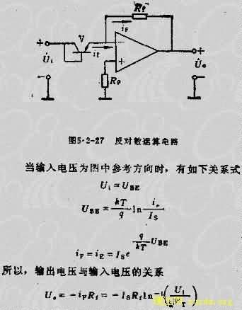 运算放大器集成电路手册的目录