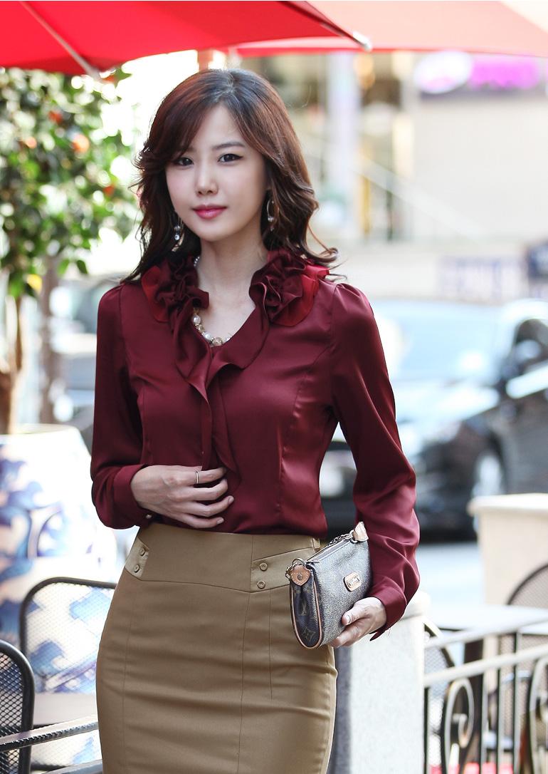 韩国美女服装模特