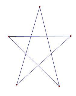 五角星的数学几何