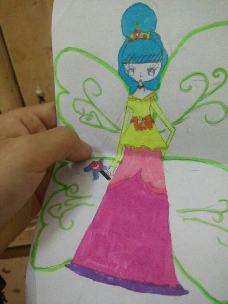 公主怎么画又简单又漂亮