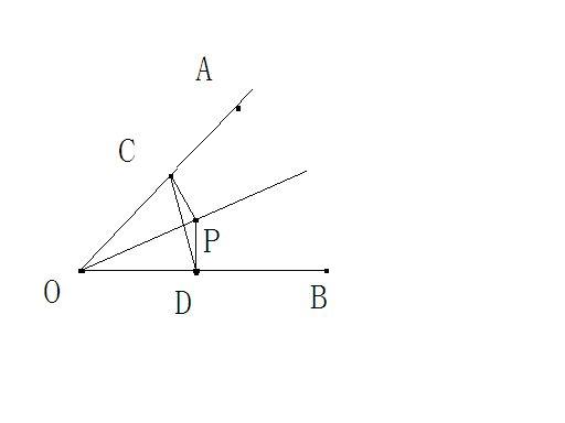 如图9,已知p点是∠aob平分线上一点,pc⊥oa,pd⊥ob垂足为c,d