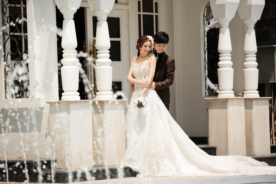立体婚纱照的制作步骤