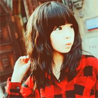 求图片:qq头像 女生非主流 要红色格子衣服的图片