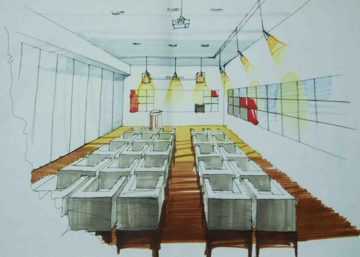教室装饰大赛主题手绘海报素材