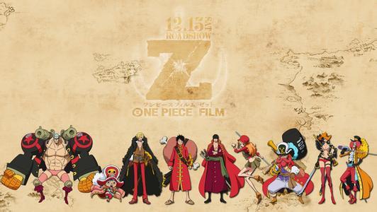 跪求海贼王剧场版12《z》的人物设定高清图