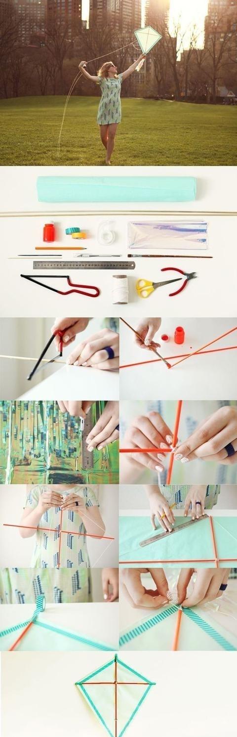 幼儿风筝怎么做步骤图
