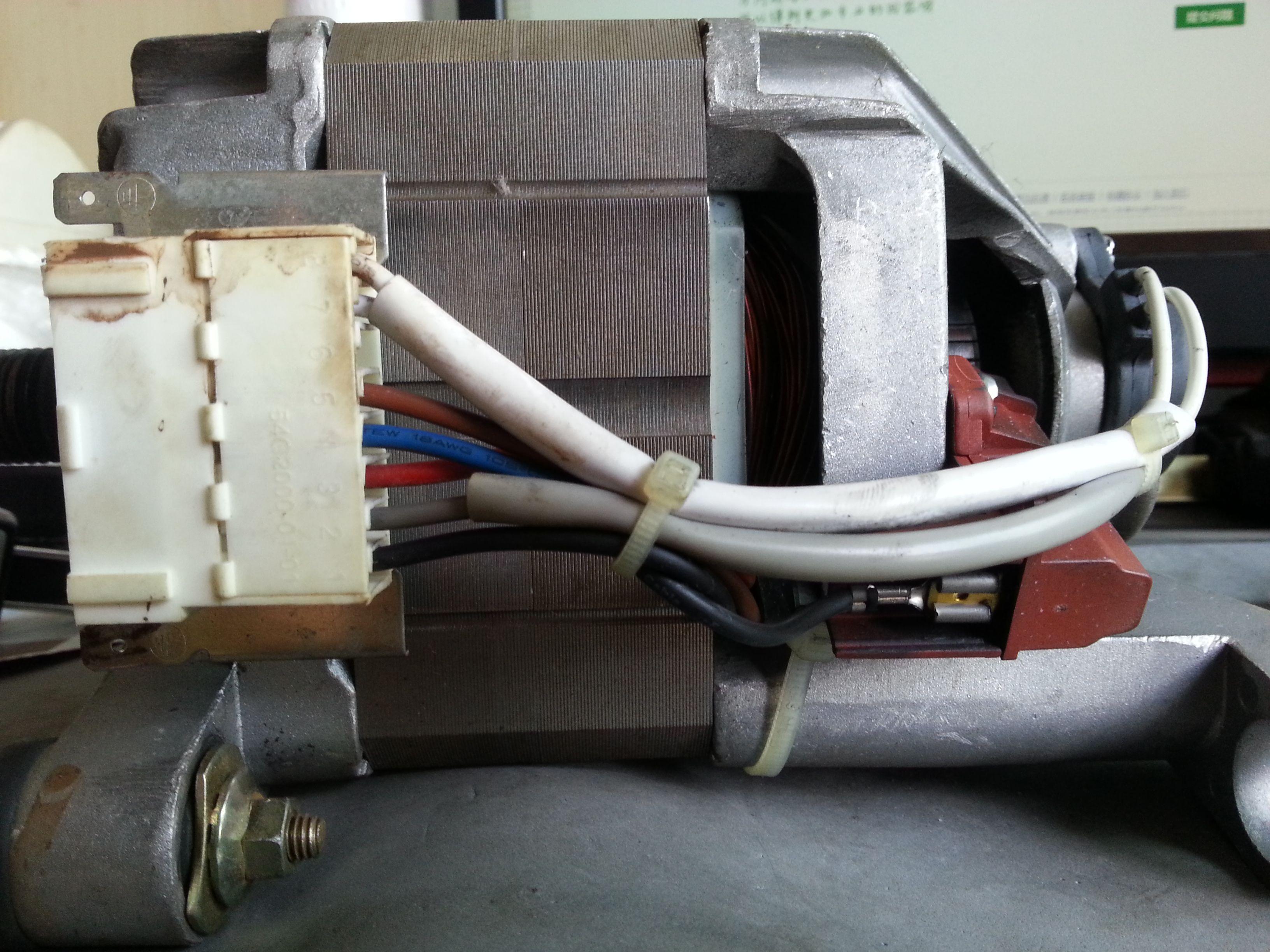 海爾xqg60-htd1268洗衣機電機接線圖