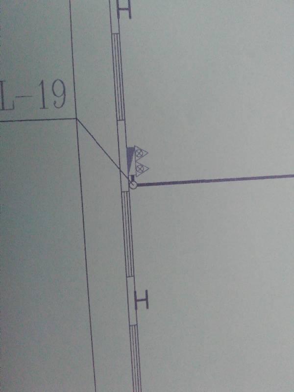 消防两个里标志三角形的图纸图纸?09adpcb打印代表图片