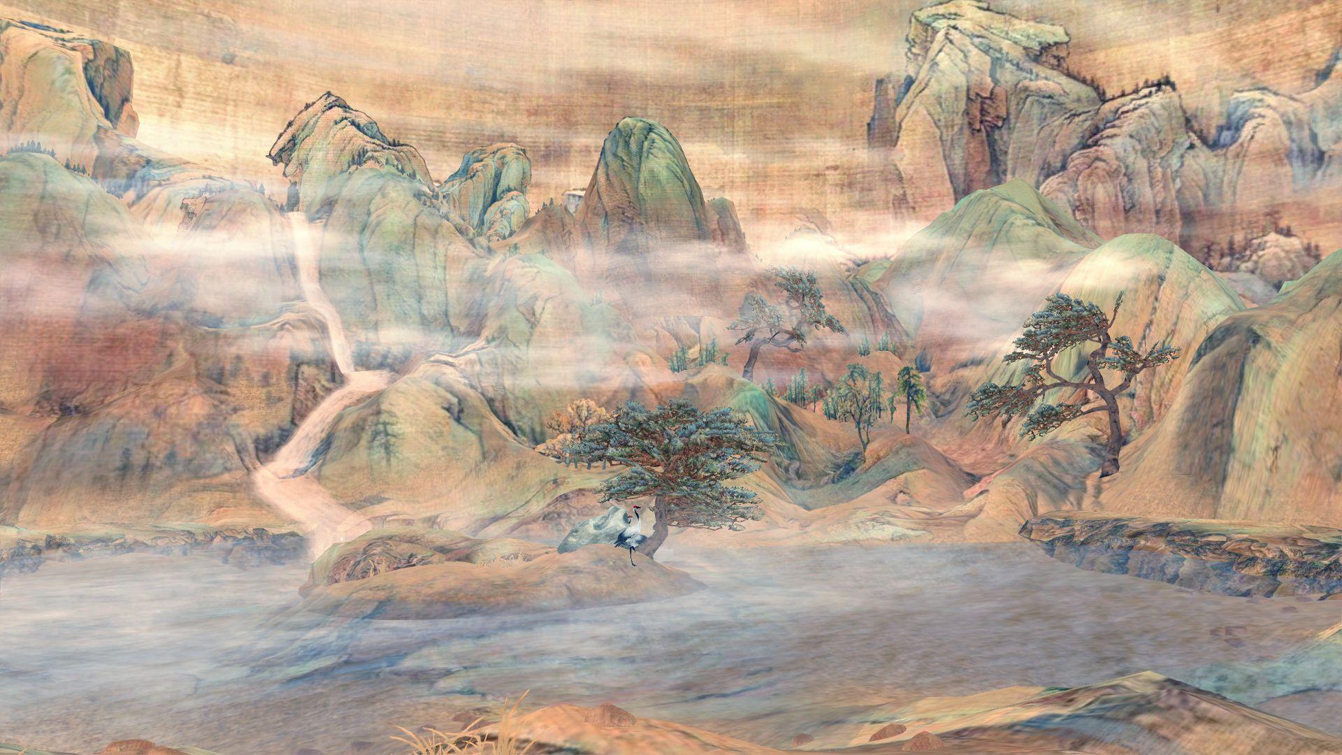 剑网三手绘 1920x1080