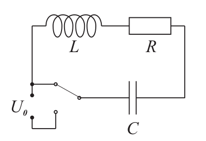 rlc电路中如何测出半衰期?