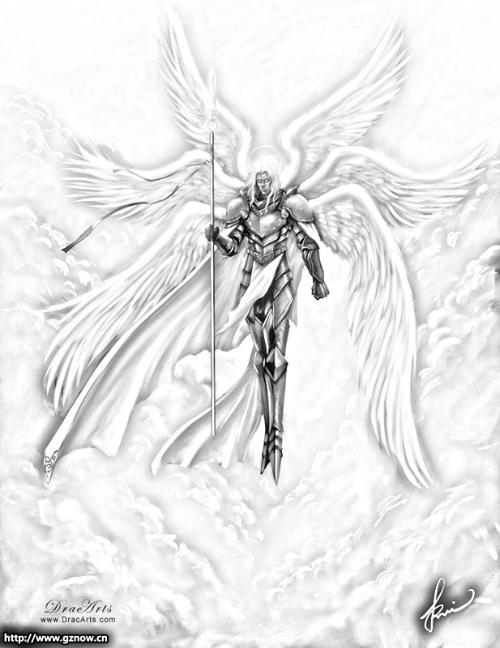 求 几张动漫的天使的图片作为qq头像