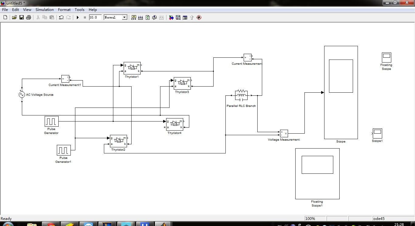 用matlab画电路�_matlab画电路图,我要将其他原件连线到图里scope上,但