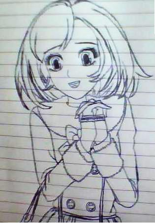 铅笔画动漫人物