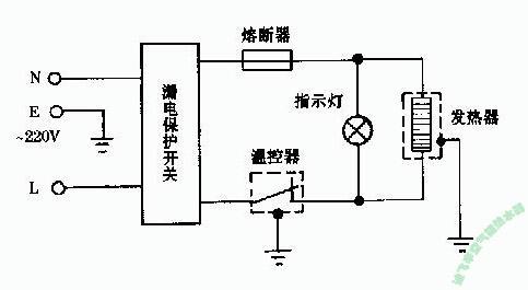 电热水器双开关线怎么接