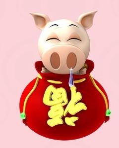 帮我找个猪流鼻涕那个头像.