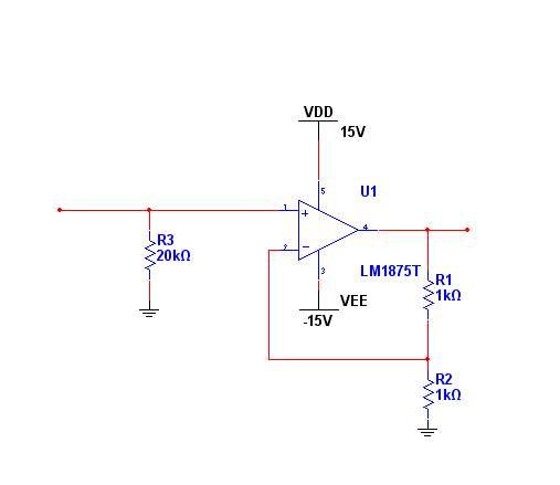 0~5v电压放大两倍0~10v,电流输出可达1a,电路应该如何