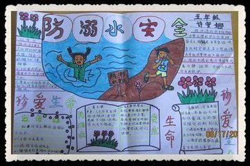 防溺水图片手抄报素材,图片上的字清楚明显语文作文知识高中2016图片