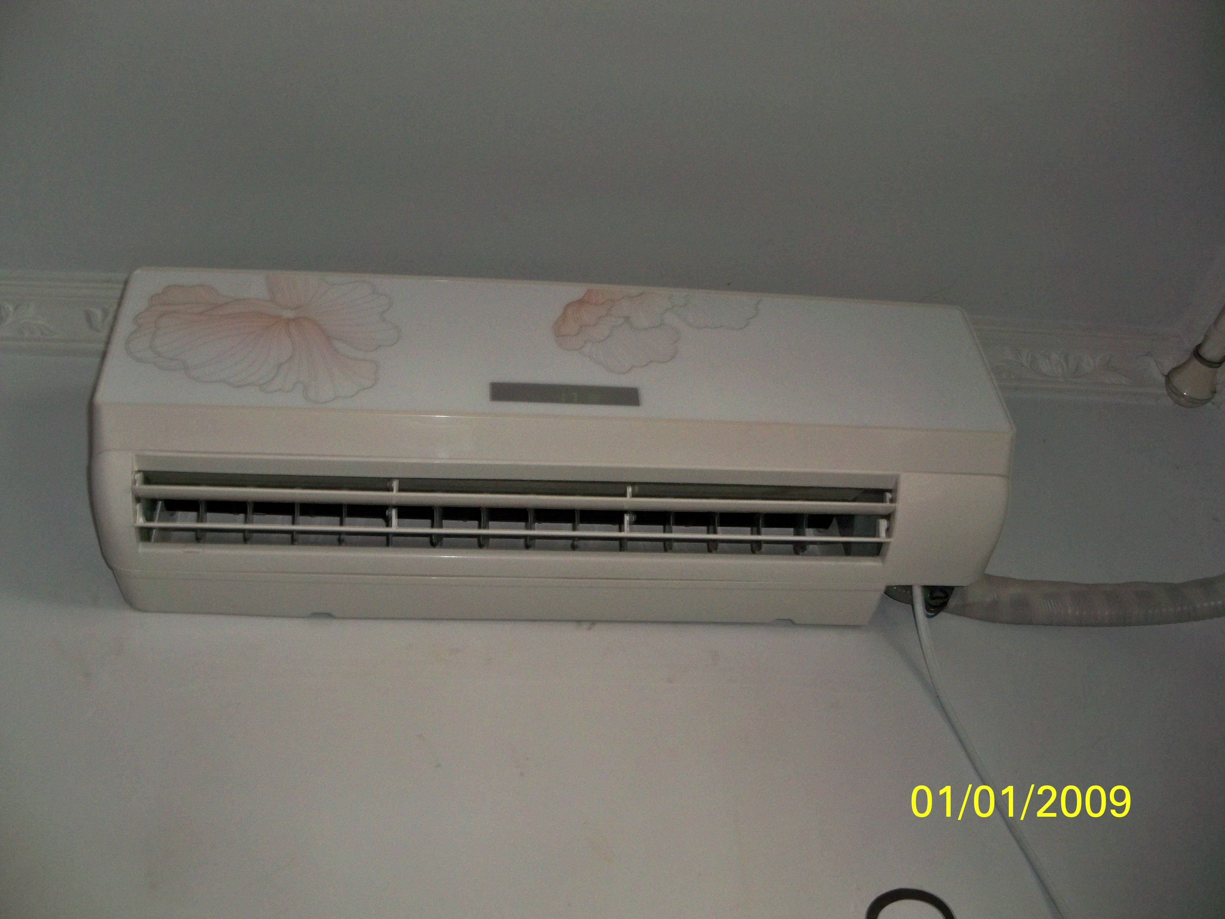 淘宝的代工外贸变频的空调,外机的线子怎么接啊