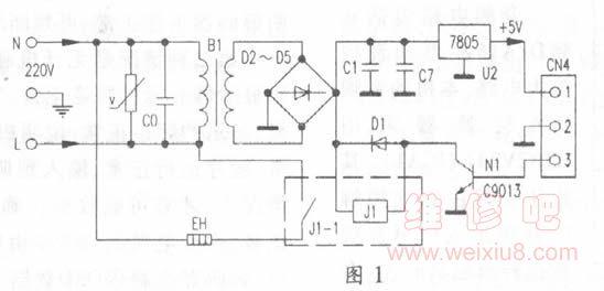 这个美的mb-yc50 a电饭锅电路里芯片u1的12脚是什么信号,为什么都是低