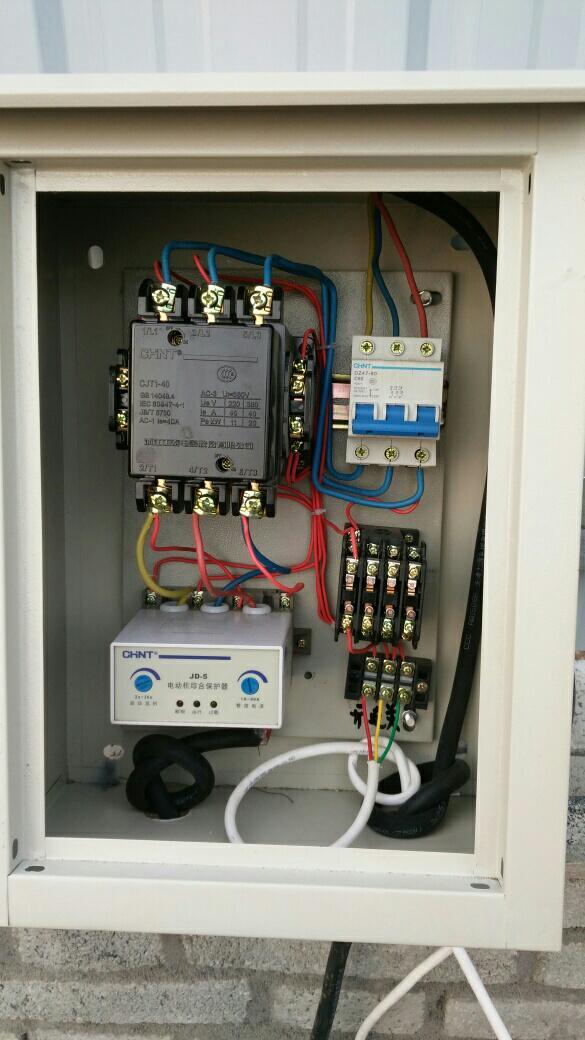 cjt1-40交流接触器的接线方法