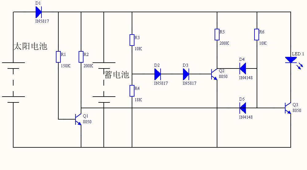 跪求:下面电路图中各个二极管,三极管,电阻的作用!