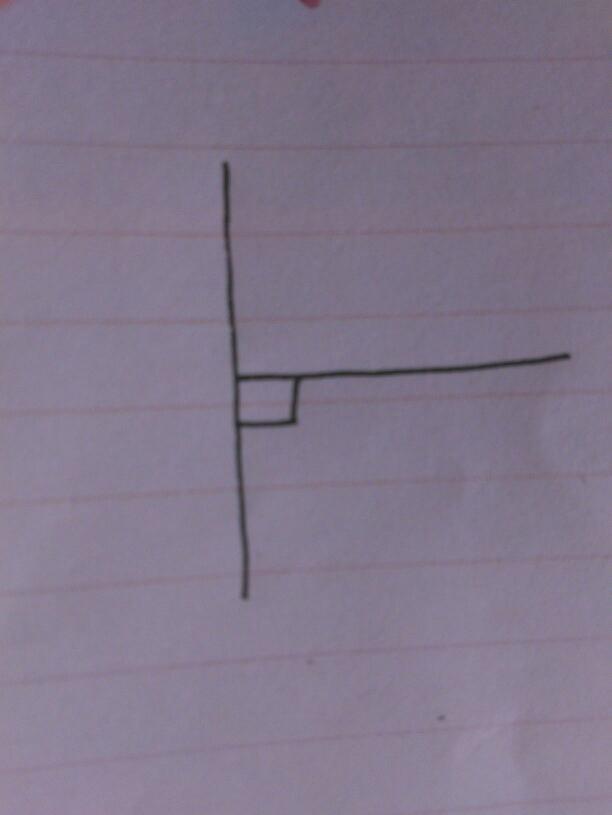 垂直线怎么画?