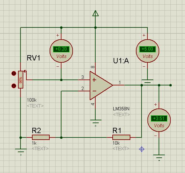 lm358放大电路问题