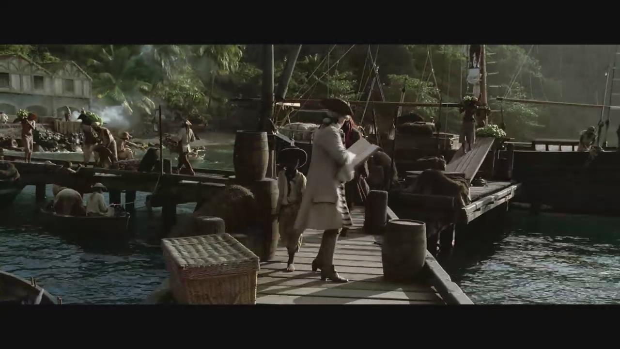 加勒比海盗1问题