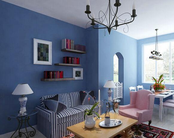 有墙面刷漆的效果图有吗装修房子的