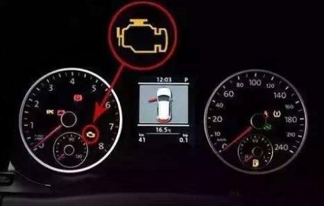 汽车仪表盘指示灯全亮,能正常启动这是什么问题