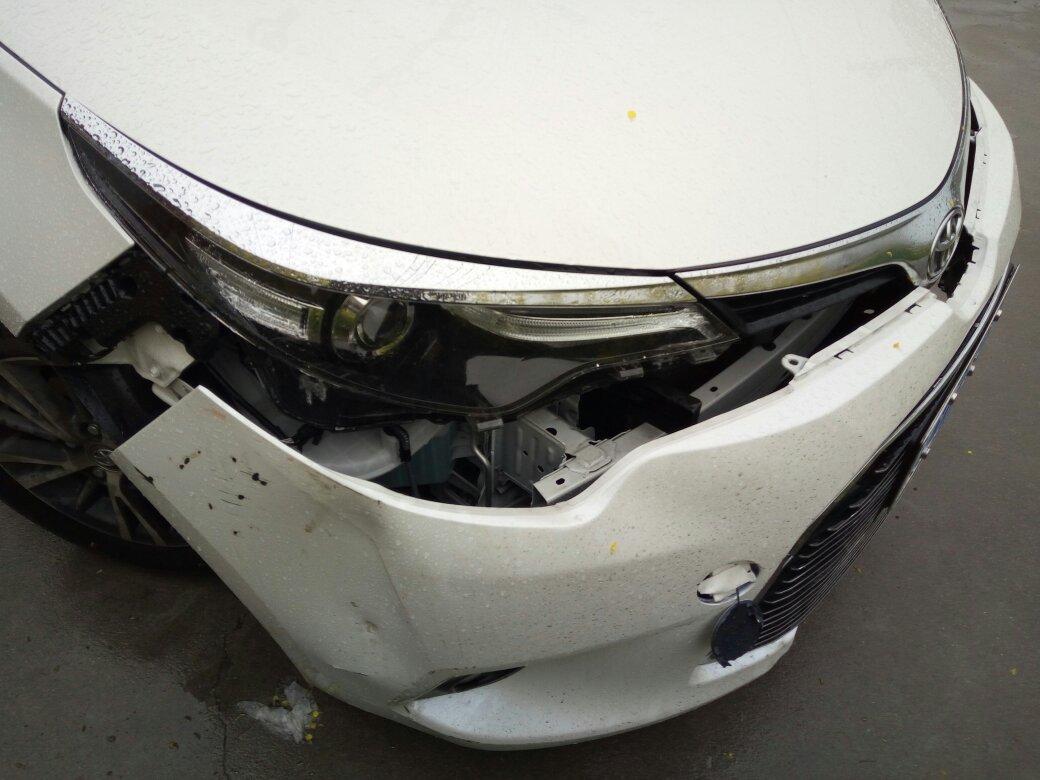 【图】卡罗拉前脸保险杠的那块塑料壳多少钱? 卡罗... 汽车之家论坛