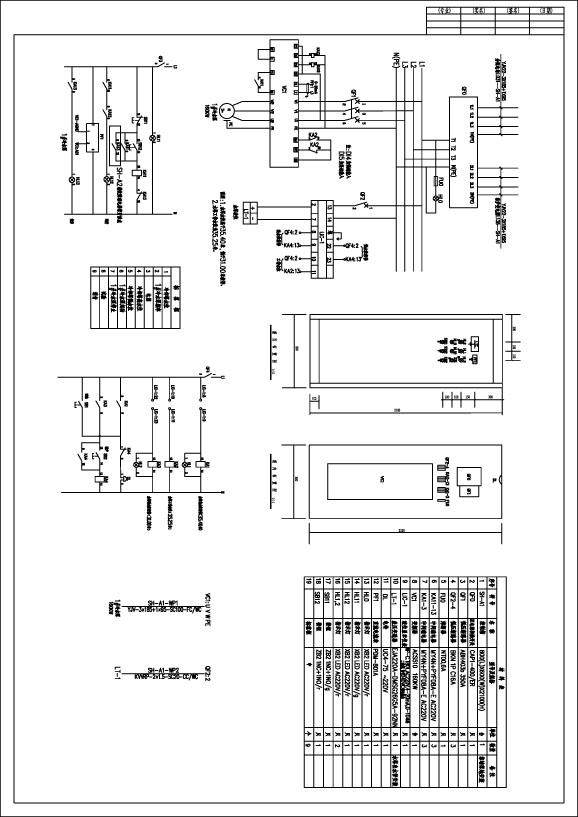 水塔水位控制电路