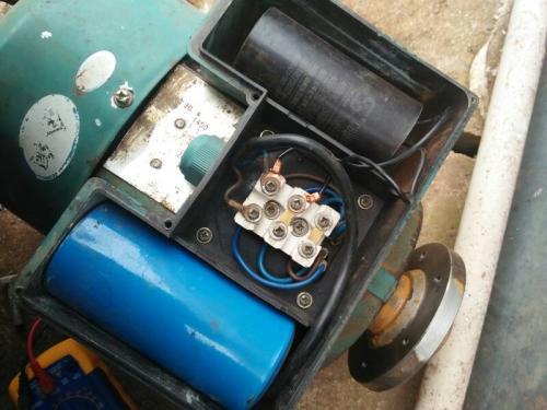 单相单电容带离心开关的电动机怎么接线