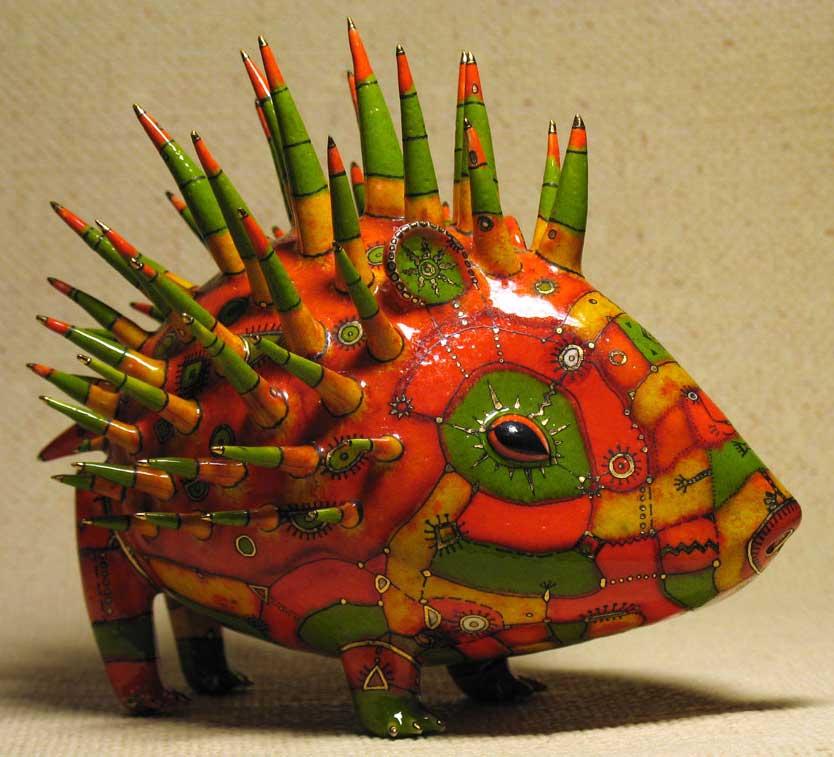 跪求俄罗斯陶艺大师的陶瓷小动物作品叫什么名字,作者
