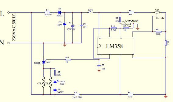 lm358 电路问题