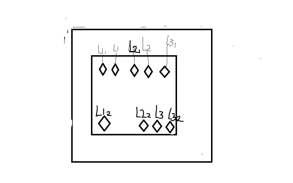 一个面板上有三个按键开关分别控制三个灯怎么接线
